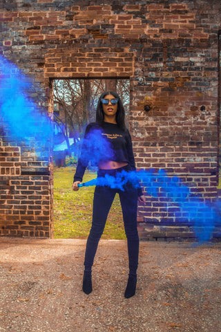 Smoke bomb photoshoot 2019