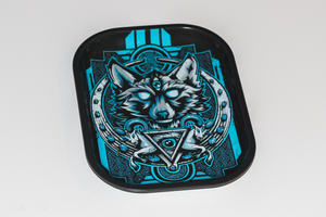 Rare Item: V-syndicate Night Wolf Metal Rolling Tray