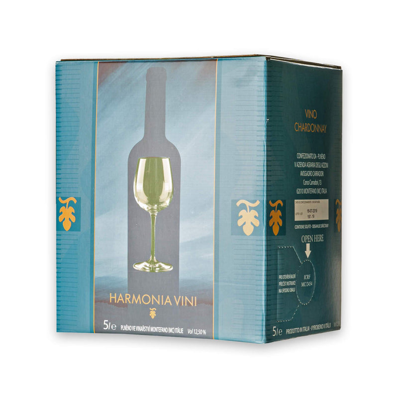 Chardonnay z Moravy Bag in Box 5 litrů