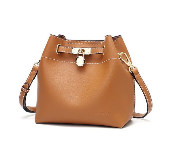 Graceful Fashion Bucket Bag with Child Bag