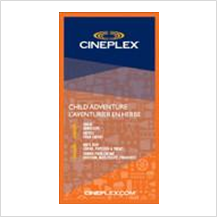 Cineplex Child Adventure / Super soirée Cineplex pour enfant
