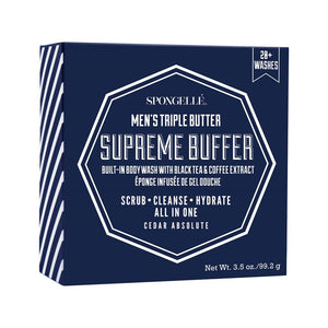 Spongelle Men's Triple  Buffer Supreme