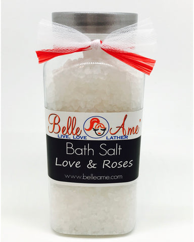 Love and Roses Bath Salts