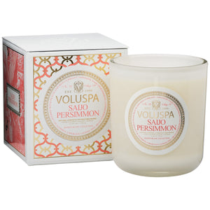 Voluspa Saijo Persimmon Maison 12oz. Candle