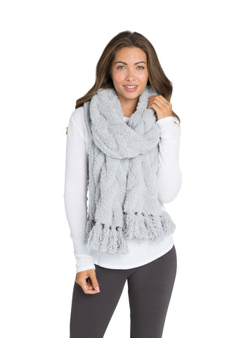 Barefoot Dreams the COZYCHIC® CABLE SCARF
