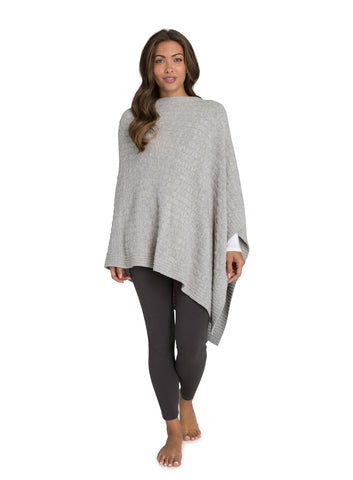 Barefoot Dreams the COZYCHIC LITE® CABLE PONCHO