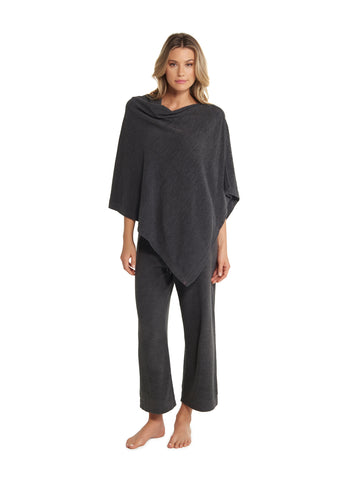 Barefoot Dreams the COZYCHIC ULTRA LITE® PONCHO in Carbon