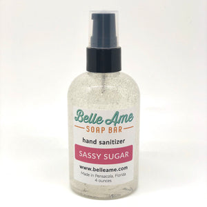 Sassy Sugar Hand Sanitizer 4oz.