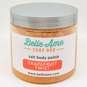 Grapefruit Twist Salt Body Polish