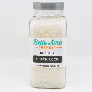 Black Rock Bath Salts