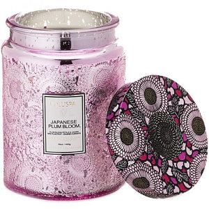 Voluspa Japanese Plum Bloom 18oz. Candle