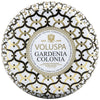 Voluspa Gardenia Colonia | 2 Wick Maison Tin Candle