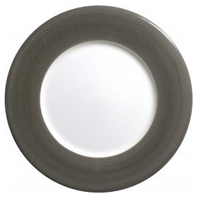 Gien Charger Plate Taupe Gray