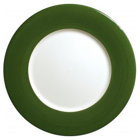 Gien Charger Plate Green