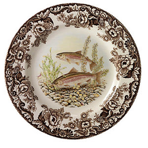 Spode rainbow Trout Dinner