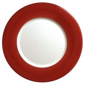Gien Charger Plate Red