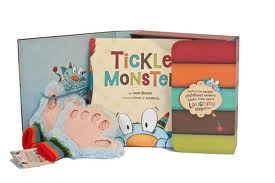Tickle monster Book ang Glove Gift Set
