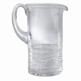 Michael Aram Crystal Wood Grain Pitcher