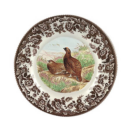 Spode Grouse dessert