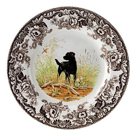 Spode Black Lab Dinner Plate