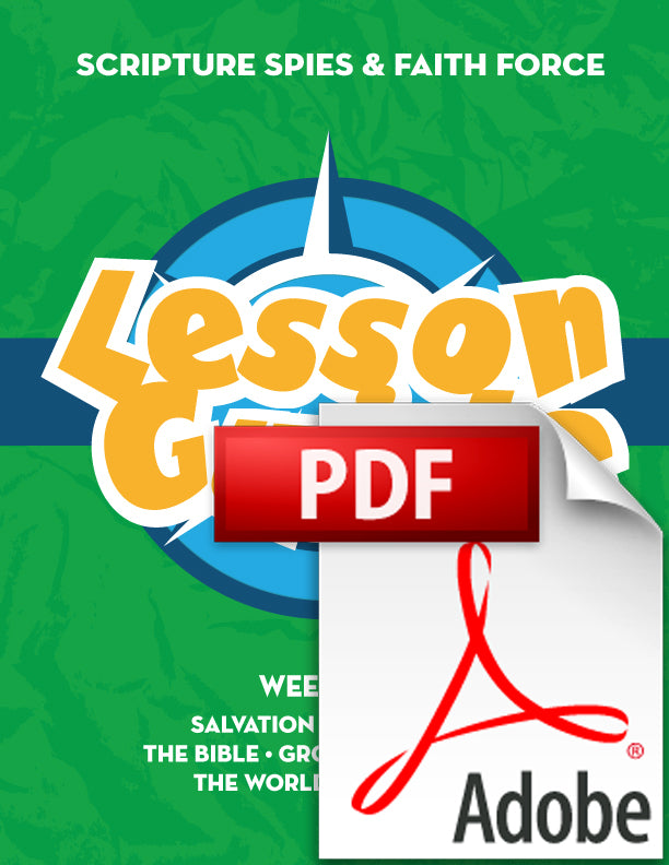 PDF - UPDATED Green Lesson Guide: SS & FF (Members: Free)
