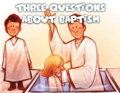 50 Baptism Tracts @ $.15 per tract
