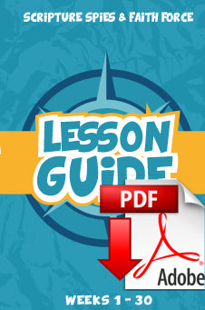 Truth Trackers - PDF Blue Lessons Guide--1st-6th grade