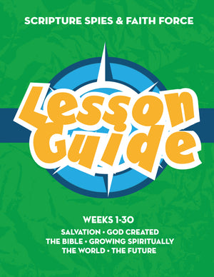 UPDATED Green Lesson Guide Hardcopy: SS and FF (Member Price is $45.00)