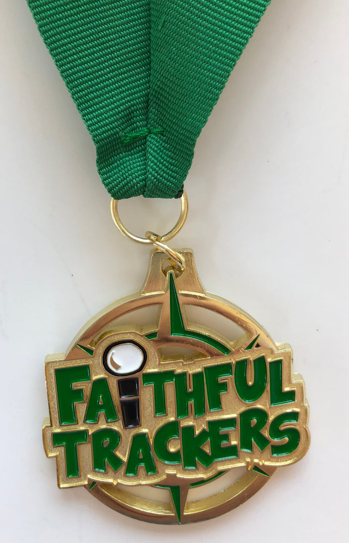 Faith Force Medallion Award Green Year