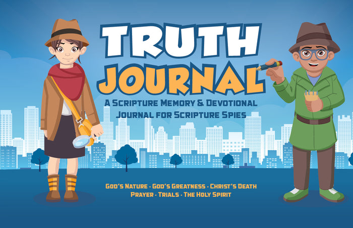 Scripture Spies Truth Journals (SALE PRICE: $9.99)