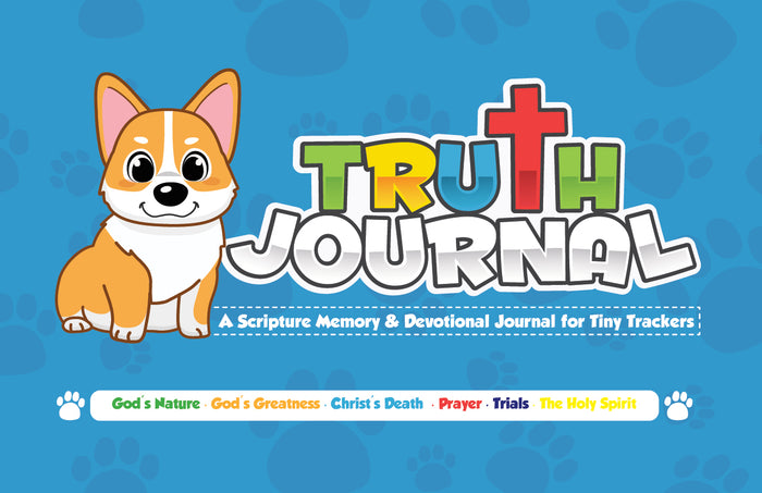 Tiny Trackers Truth Journal (SALE PRICE-$9.99)