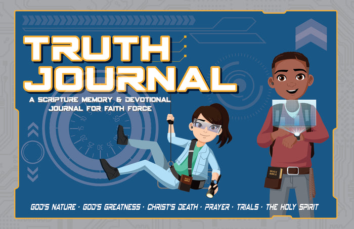 Faith Force Truth Journals (SALE PRICE $9.99)