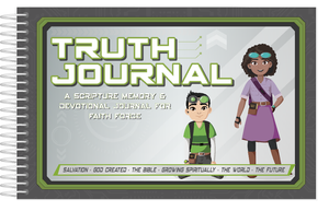 Green Faith Force Truth Journals (Member Price: $12.99)