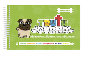 Green Tiny Trackers Truth Journal (Member Price: $11.99)
