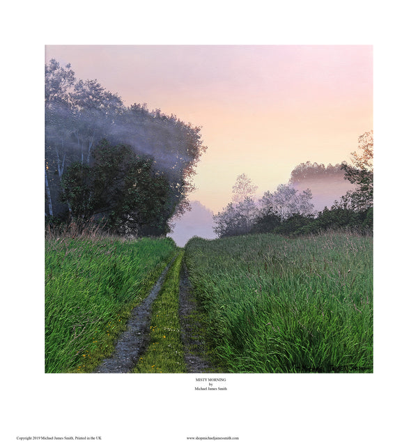 """Misty Morning"" Open edition print"