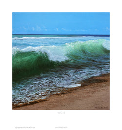 """THE WAVE"" OPEN EDITION PRINT"