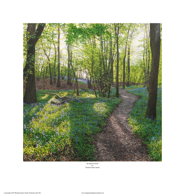 """Blakes Wood"" Open edition print"