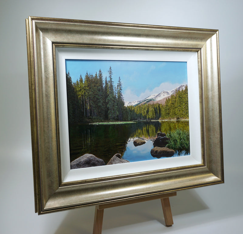 LAKE REFLECTIONS | ORIGINAL OIL PAINTING