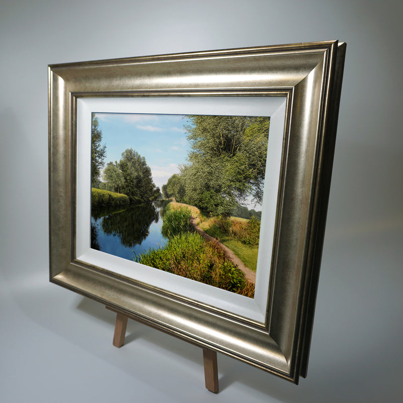 """The River Chelmer""  Original Oil Painting"