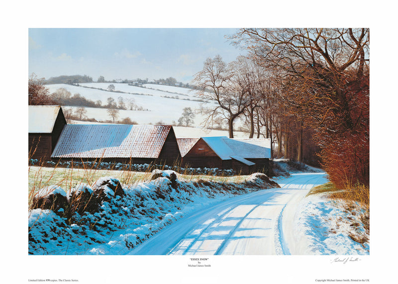 """Essex Snow"" Limited Edition Print"