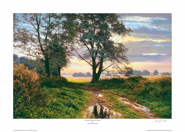 """Evening Reflections"" Limited Edition Print"