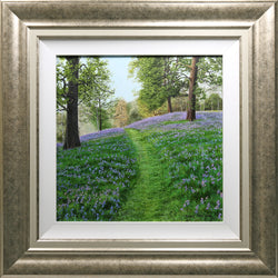 Bluebell Trail | Original Oil Painting