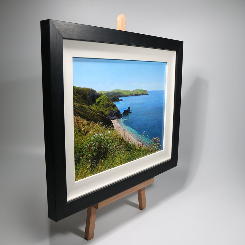 THE COASTAL VIEW | ORIGINAL OIL PAINTING