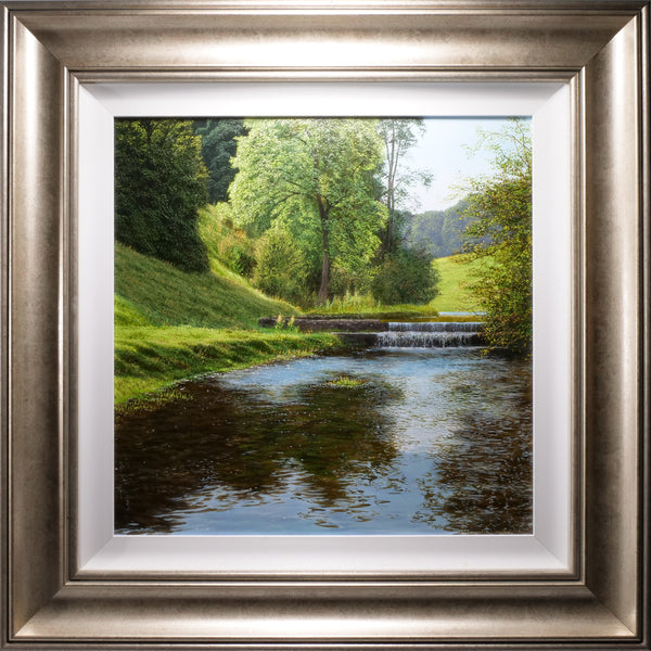 THE RIVER LATHKILL | ORIGINAL OIL PAINTING