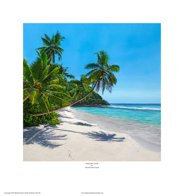 """Paradise Sand"" Open edition print"