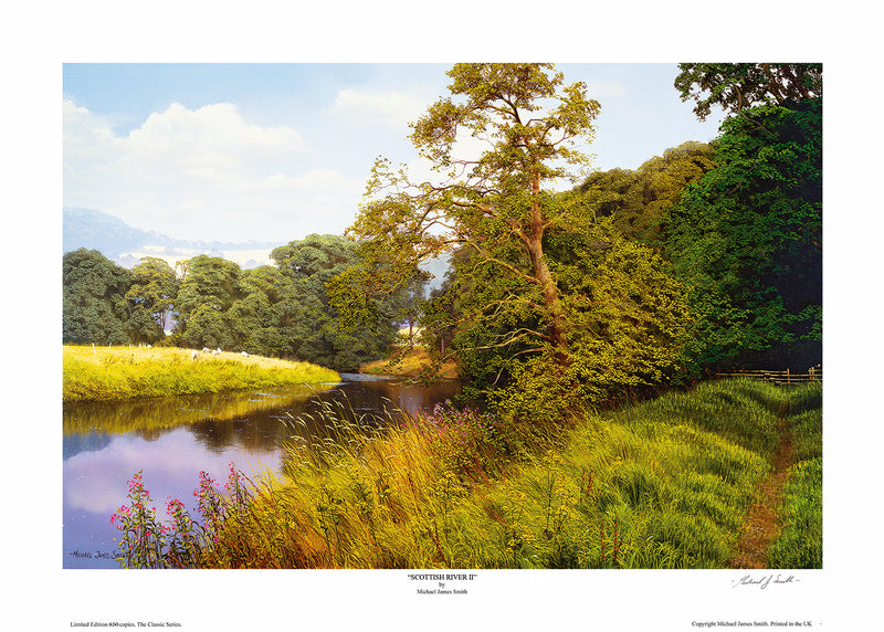 """Scottish River II"" Limited Edition Print"
