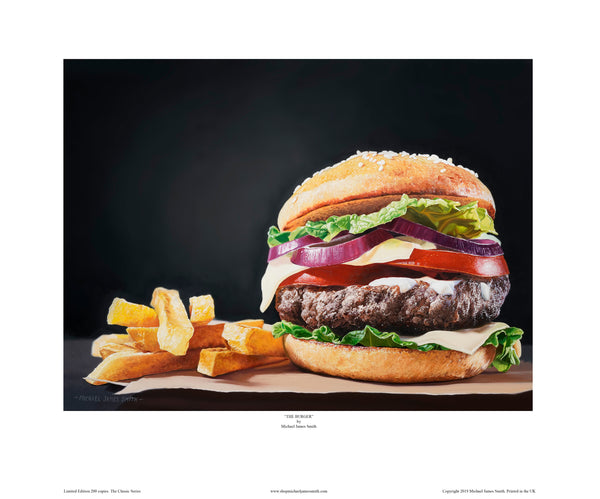 """The Burger"" Limited Edition Print"
