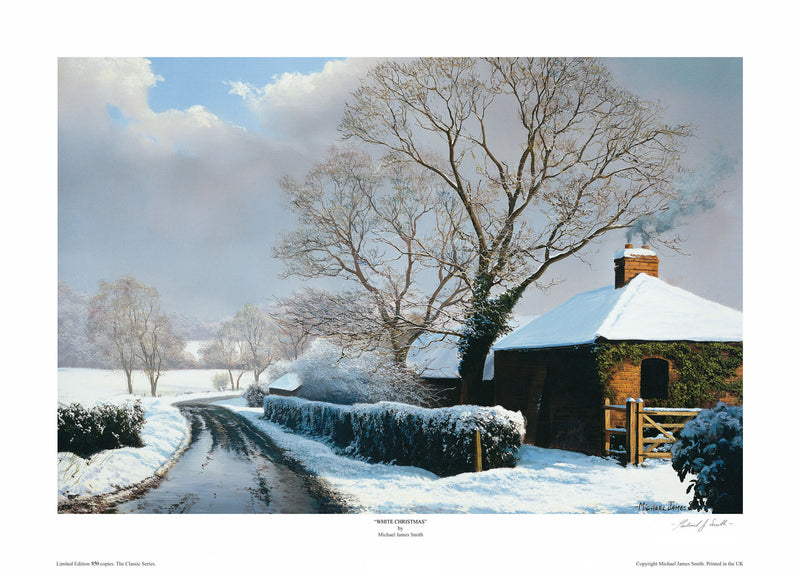 """White Christmas"" Limited Edition Print"
