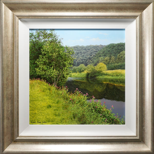 The river wye | Original oil painting