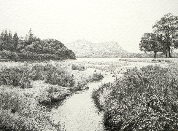 """Derwent Water"" Original Sketch"